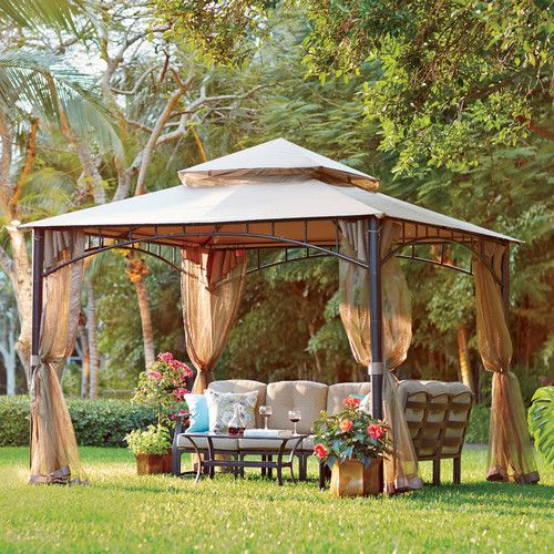 Found it at Wayfair - Davidsville 10 Ft. W x 10 Ft. D Metal Portable Gazebo