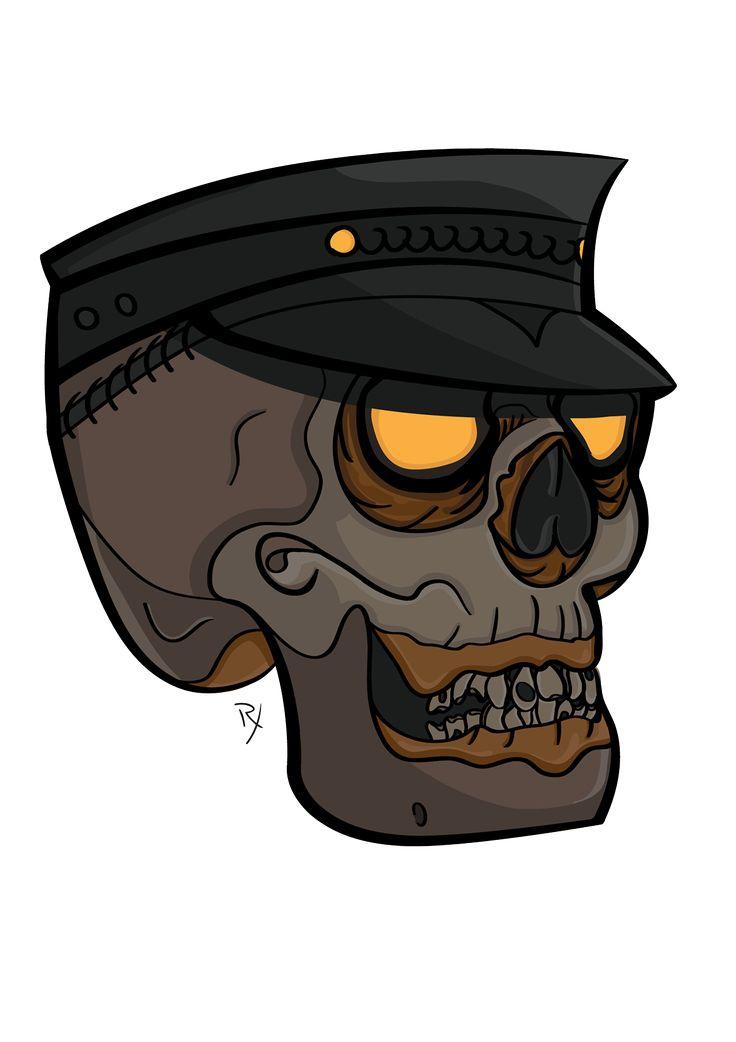 Skull Conductor on Behance