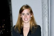 Princess Beatrice seen leaving famous restaurant Nobu in Mayfair London after a meal with friends.
