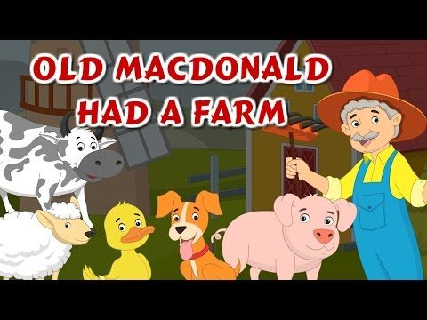 Old MacDonald Had A Farm Rhyme | Animal Sound Song and Kids Nursery Rhyme | Best Buddies - YouTube