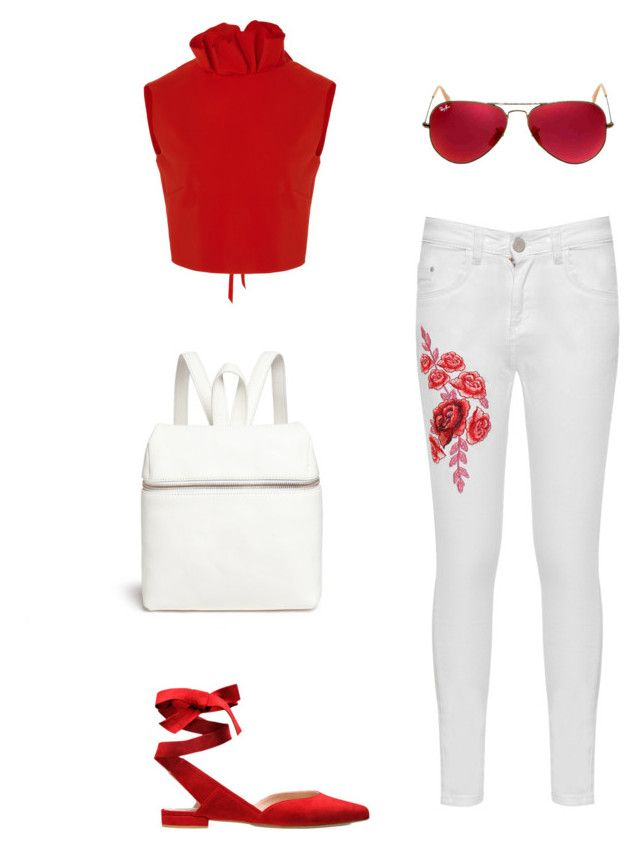merve 5 by ilaydaozer on Polyvore featuring moda, SemSem, WearAll, Kara and Ray-Ban