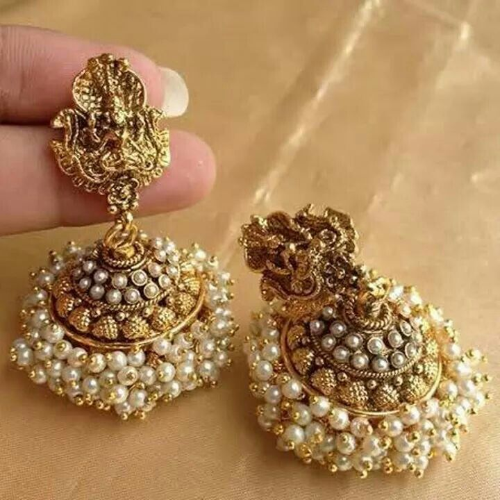 #jhumka#Indian  For More Follow On INSTA @love_ushi OR PINTEREST @ANAM SIDDIQUI ♥