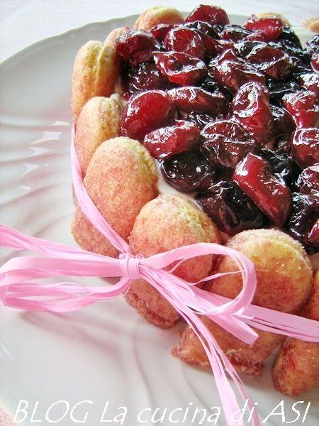 ciliegie torta La cucina di ASI