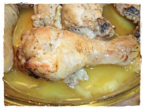 Receta de Pollo Troceado Especiado al Horno