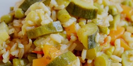 Risotto Vegan alle Verdure Croccanti