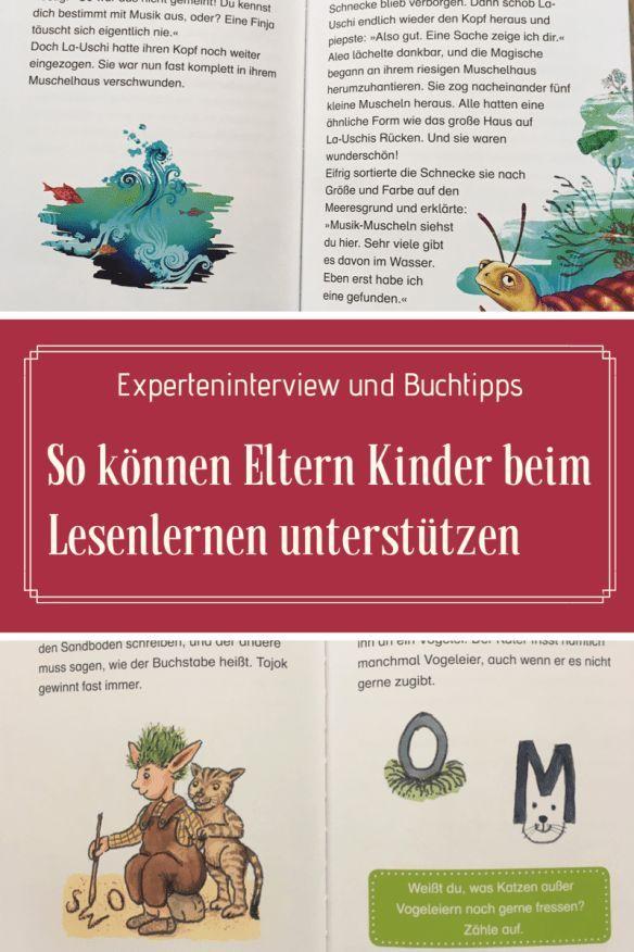 So Konnen Eltern Kinder Beim Lesenlernen Fordern Interview Tipps