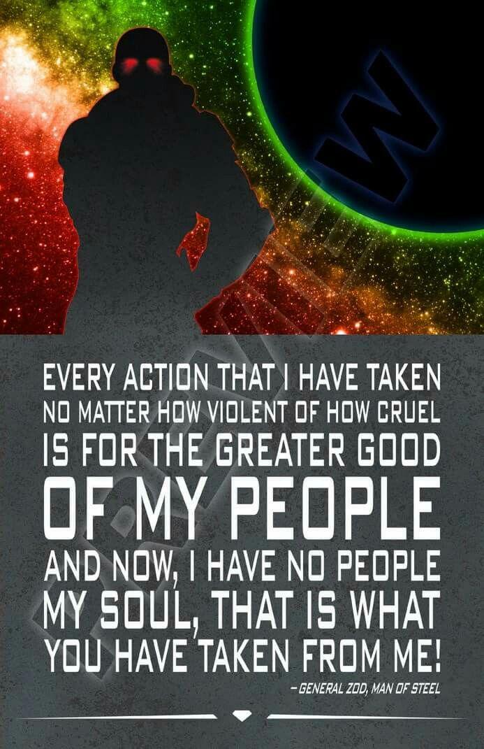 General Zod quote. Krypton. Kryptonian. Man of Steel. DC Comics