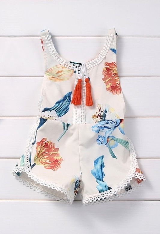 So Fun! Floral Baby Romper. Bestselling item for baby girls. Cute for warmer weather, trendy and modern. Cute Floral prints. Available now! 70% OFF