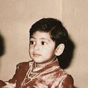Rana Childhood Pic