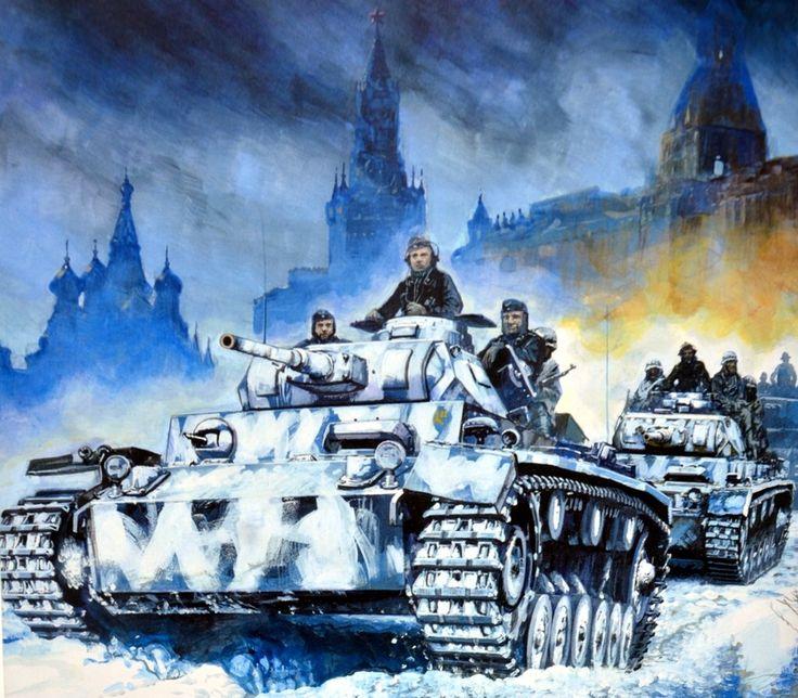 1941 11 Batalla de Moscú - Shin Ueda
