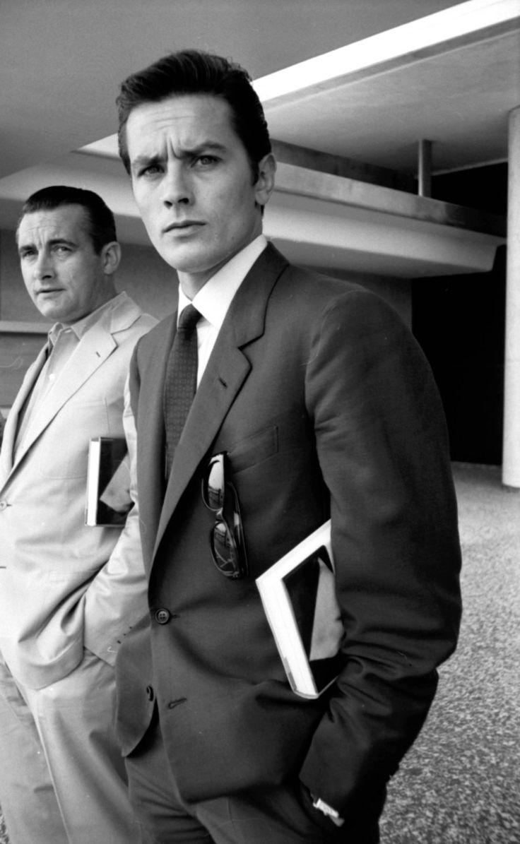 Alain Delon in Beverly Hills, 1969.
