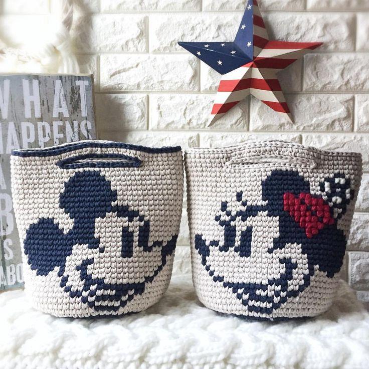Minnie and Mickey Mouse Mochila