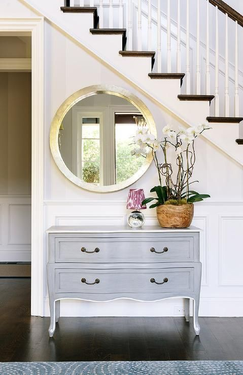 Hallway tables provide the perfect finishing touch that says you've thought your decor through all the way to the front door and make a statement about your home and your hospitality.