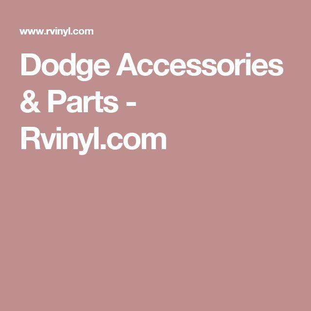 Dodge Accessories & Parts - Rvinyl.com