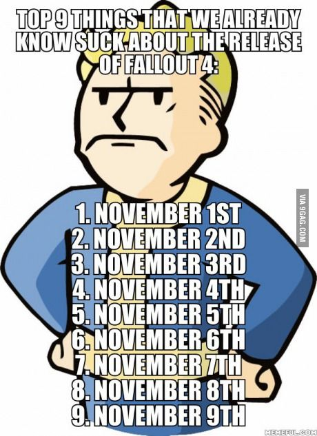 Funny Memes For November : Best images about fallout memes on pinterest never