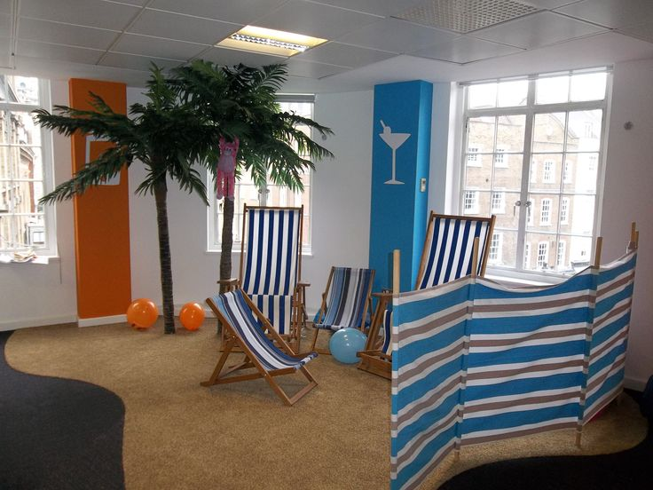 Beach Themed Breakout Area Livingsocial London Office