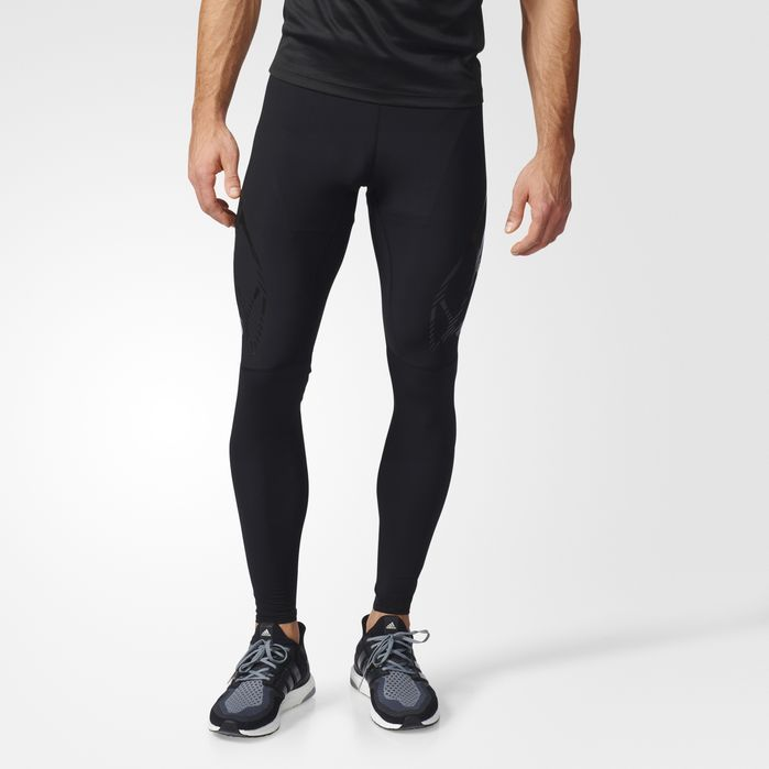 adidas adizero Sprintweb Long Tights - Mens Running Tights