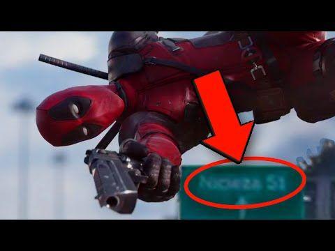 Deadpool Trailer EASTER EGGS & REFERENCES - YouTube