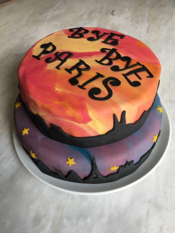 Gâteau sur le thème Paris Marseilles   Découvrez comment le réaliser vous-même avec un tutoriel en images sur mon blog Les délices d'Anaïs.  https://lesdelicesdanais.net/tutoriels/from-paris-to-marseille/  #cakedesign #tutoriel #gateau #patisserie #pateasucre #gâteau #anniversaire #birthday #birthdaycake #cake #Paris #Marseilles