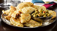Empanadas - 9 Countries, 9 different ways.  Check out the recipes by double clicking on the image!