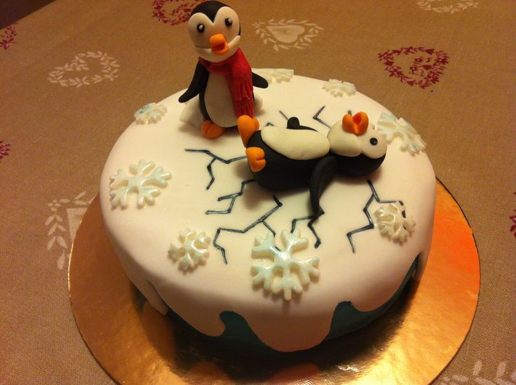 Pinguini  - Cake Design