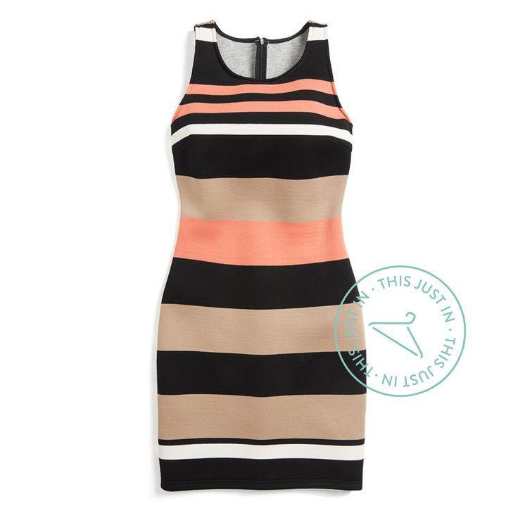 """A bodycon for every body! Opt for a """"scuba"""" material for your form-fitting dresses—it's forgiving, completely opaque & unbelievably comfortable."""
