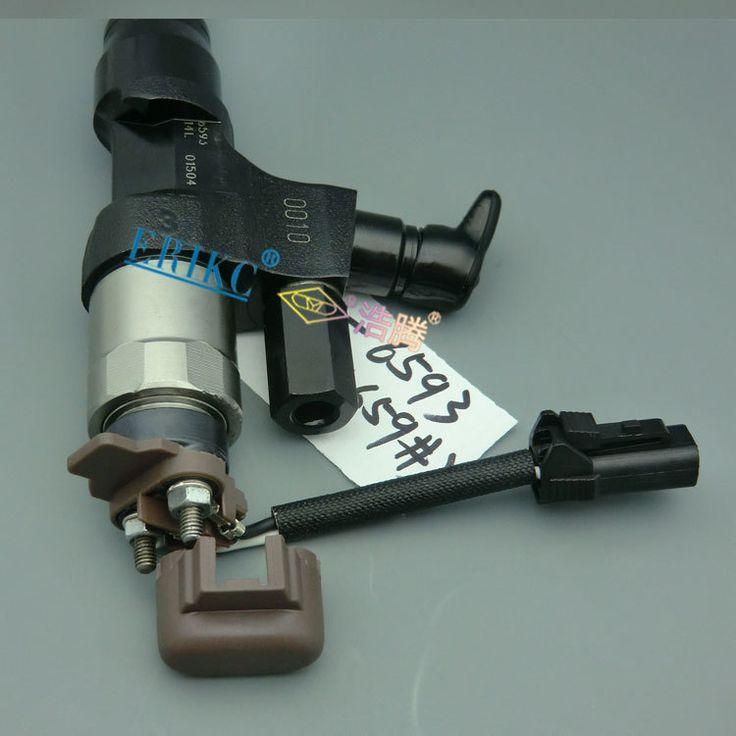 ERIKC denso 095000-6592 original denso fuel injector common rail 095000-6592, Denso 6592 fuel oil injector