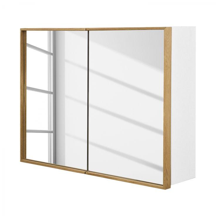 Spiegelschrank - Weiss