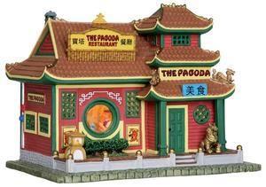 25373 - The Pagoda Restaurant - Lemax Caddington Village
