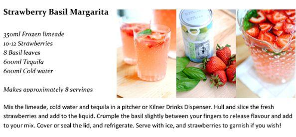 Strawberry-Basil-Margarita