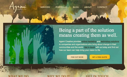 artsy: Graphic Design, Design Inspiration, Webdesign, Web Design, Design Ideas, Watercolors, Beautiful, Agami Creative, Website Designs