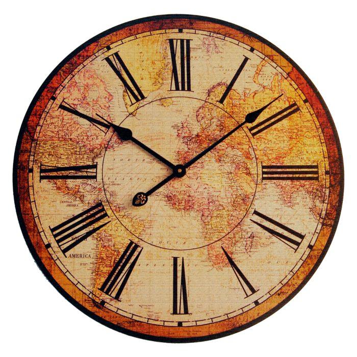 261 best ephemera clocks time images on pinterest tag on wall clocks id=18354