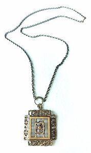 Finland Pentti Sarpaneva - Vintage Bronze Pitsi Pendant with Chain - Necklace   eBay
