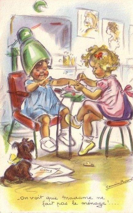 Germaine Bouret...de mon enfance... Pleine de malice.!.