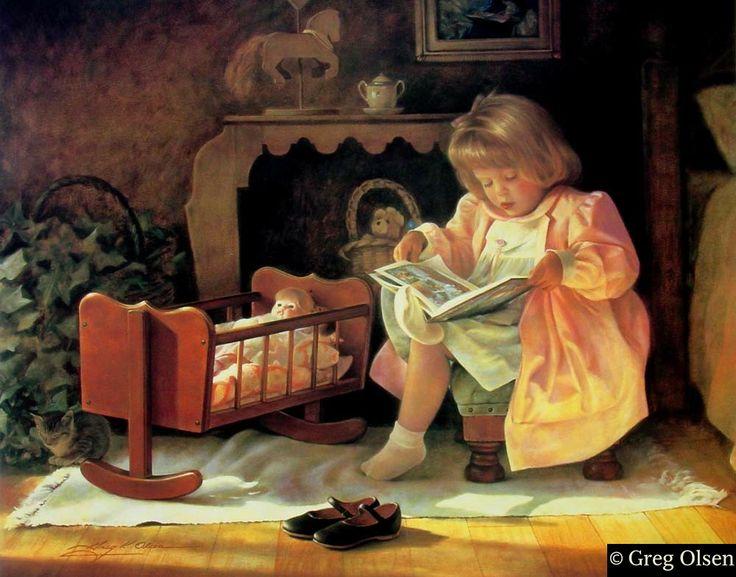 "Грег Олсен. ""Маленькие девочки будут мамами"""
