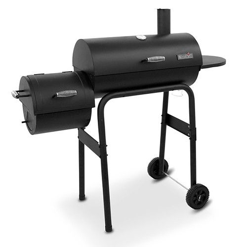 Found it at Wayfair - 300 Series American Gourmet Offset Charcoal Grill & Smoker