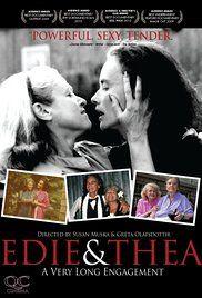 Edie & Thea: A Very Long Engagement Poster  Directors: Susan Muska, Gréta Olafsdóttir (as Gréta Ólafsdóttir) Stars: Thea Spyer, Edea Windsor
