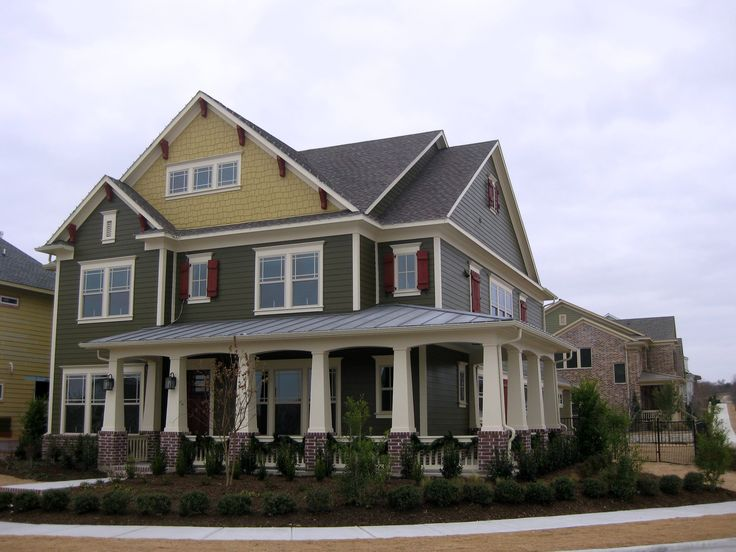 craftsman style homes on pinterest exterior colors craftsman style