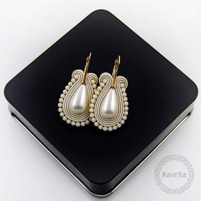 Kavrila - biżuteria autorska . sutasz . soutache: .gold