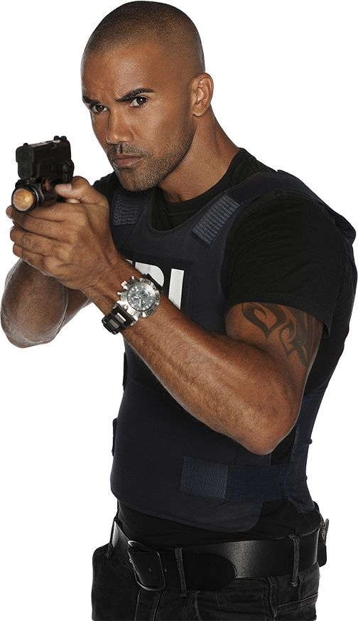 Shemar Moore from Criminal Minds