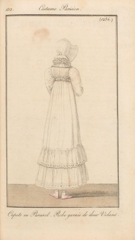 Journal des dames et des modes / Costume Parisien: 15 Septembre, 1812 (2a)