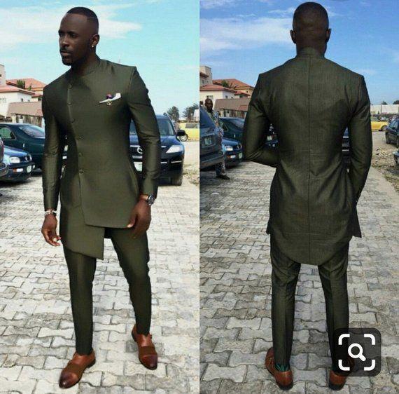 Men's Dashiki clothing, African Dashiki suit, African men's clothing, Bespoke men's dashiki,African