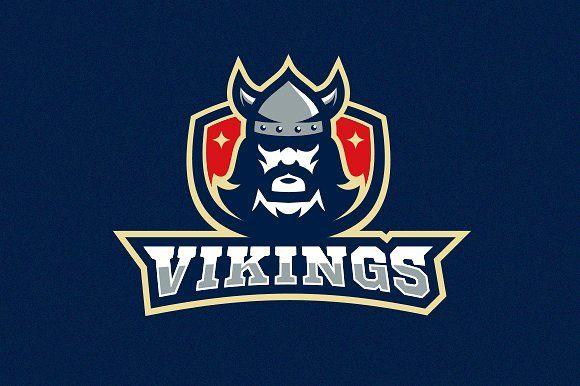 Vikings Logo and Mascot by RoMM.co on @creativemarket