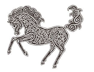 celtic horse tattoo   ... tattoos admin stunning tattoos on body picture of celtic horse tattoo