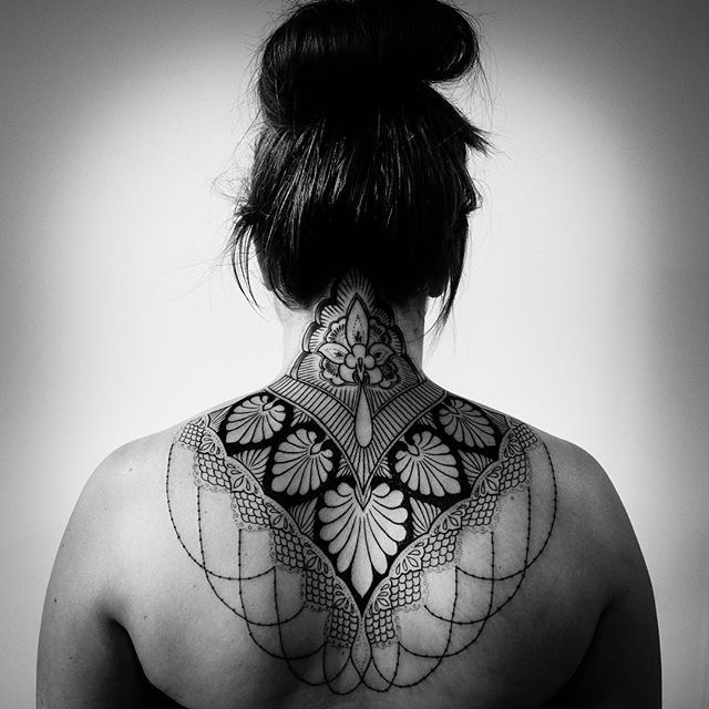 Blackwork and Dotwork custom tattoo specialists located in San Francisco, California.