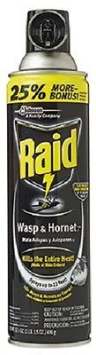 Insect Repellent Sprays 181038: (12) S C Johnson 51367 Raid 17.5Oz Aerosol Wasp And Hornet Sprays - 733873 -> BUY IT NOW ONLY: $55.79 on eBay!