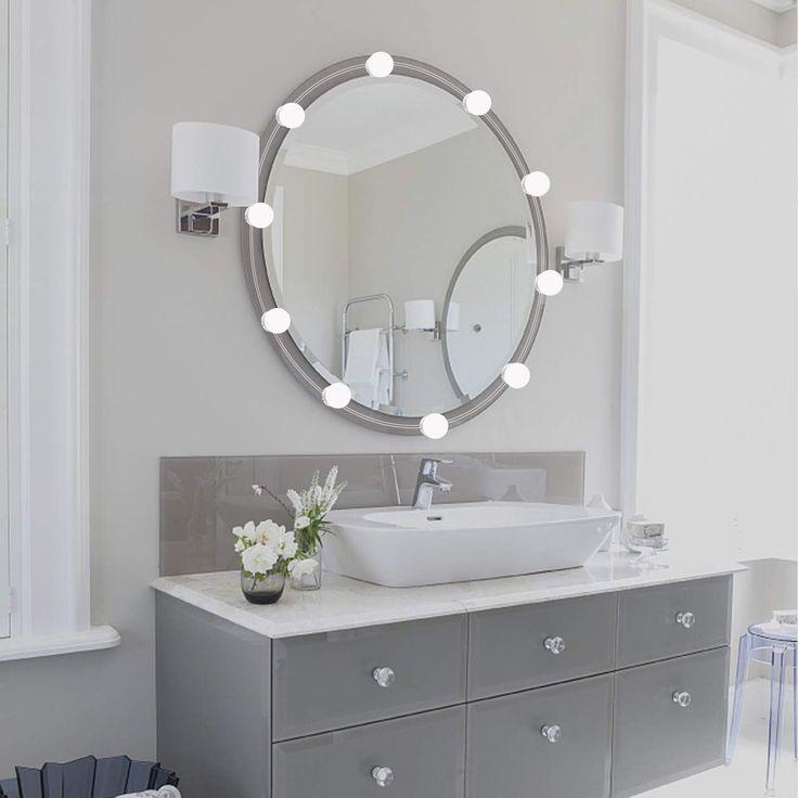 Badezimmer Spiegel Gl Birnen