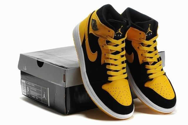 Cool black n' yellow nike air Jordan's | Sneaker Obsession ...