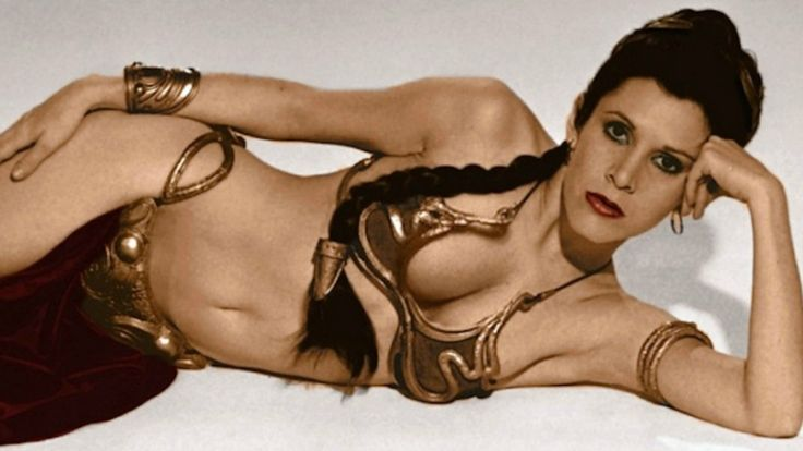 Carrie Fisher as Princess Leia in Star Wars More
