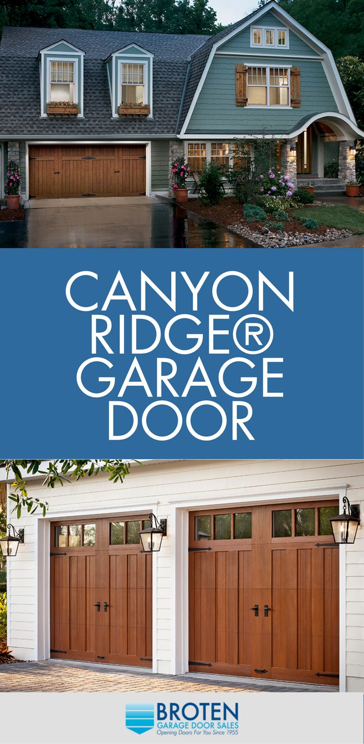 61 best Canyon Ridge Garage Doors by Clopay images on Pinterest ...